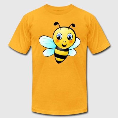 Honey bee - Men's T-Shirt by American Apparel