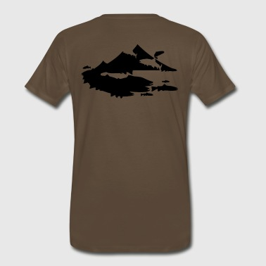 Mountain of Trout Shirt - Men's Premium T-Shirt