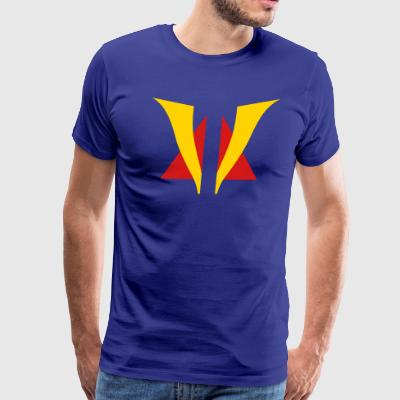 Venturian Split Logo-MP T-Shirts - Men's Premium T-Shirt