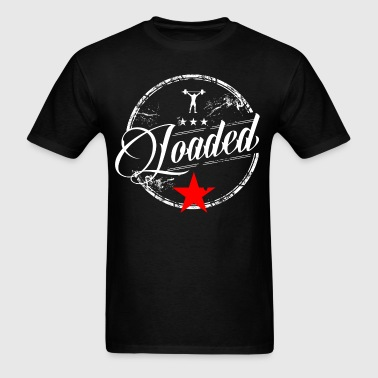LOADED script tee - Men's T-Shirt