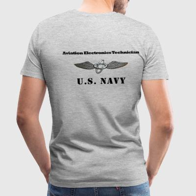 US Navy Aviation Electronics Technician Shirt - Men's Premium T-Shirt