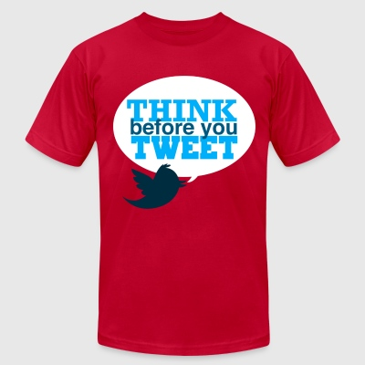 Twitter Tee - Men's T-Shirt by American Apparel