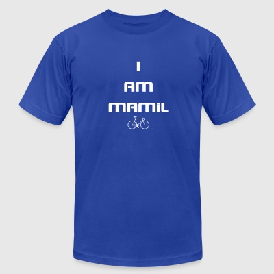 I AM MAMiL - Men's T-Shirt by American Apparel
