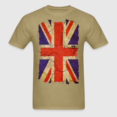 Grunge Union Jack UK Flag T-Shirts - Men's T-Shirt