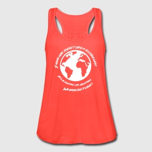 Most Popular Girls We Have One Planet Tanks - Women's Flowy Tank Top by Bella