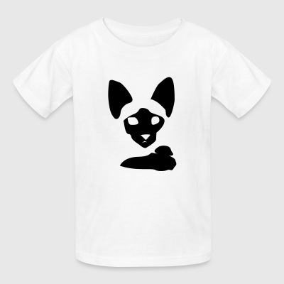 Siamese Cat Portrait - Kids' T-Shirt