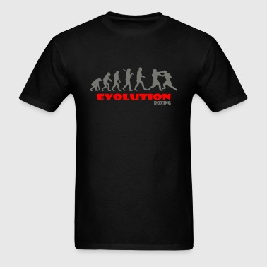 Boxing ape of Evolution - Men's T-Shirt