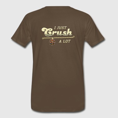Candy Crush Player Mens (brown) - Men's Premium T-Shirt