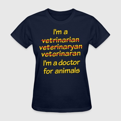 Veterinarian - Women's T-Shirt