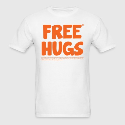 Free* Hugs T-Shirt - Men's T-Shirt