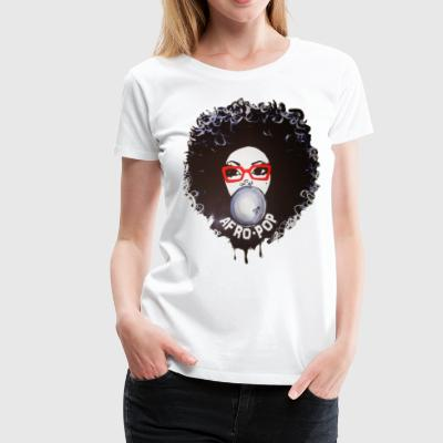 Afro pop_Global Couture Women's T-Shirts - Women's Premium T-Shirt