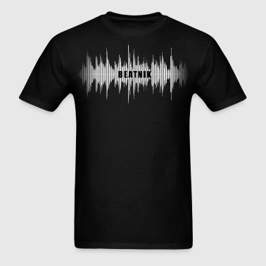 Beatnik Audio Wave - Men's T-Shirt
