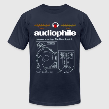 audiophile - Men's Fine Jersey T-Shirt