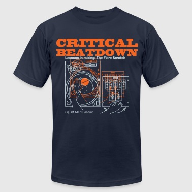 Critical Beatdown shirt - Men's Fine Jersey T-Shirt