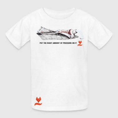Pressure Ylvis What does the Fox say Kids' Shirts - Kids' T-Shirt