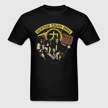 Kiss Hotter Then Hell - Men's T-Shirt