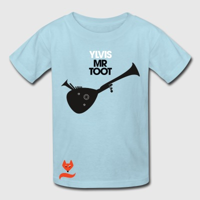 Mr. Toot Ylvis What does the Fox say T-Shirts - Kids' T-Shirt