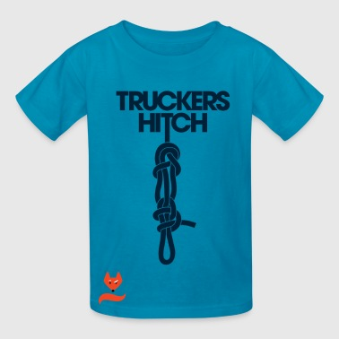 Trucker's Hitch Ylvis What does the Fox say TShirt - Kids' T-Shirt