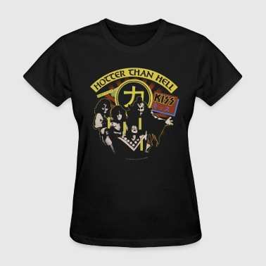 Kiss Hotter Then Hell - Women's T-Shirt