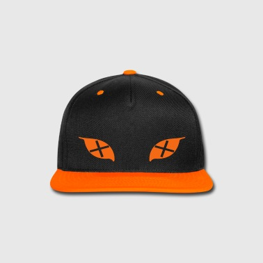 Cross Eyes Cap (Orange) - Snap-back Baseball Cap