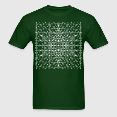 Merkaba Unversal Grid - Men's T-Shirt