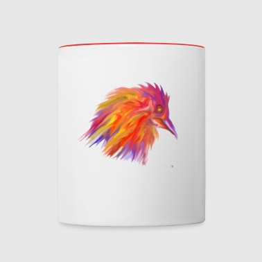 WILD ROOSTER - Contrast Coffee Mug