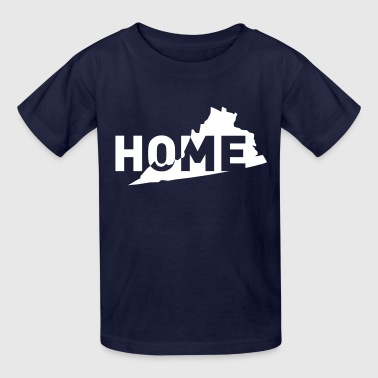 Home is where Virginia is - Kids' T-Shirt