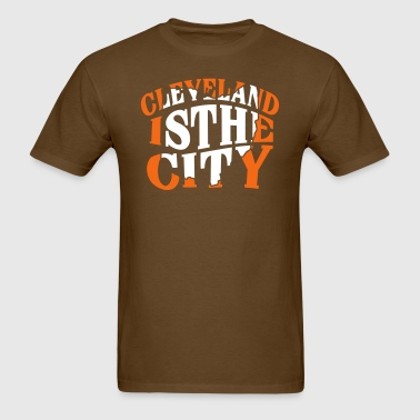 Cleveland The City T-Shirts - Men's T-Shirt