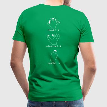 Climbing Holds - Men's Premium T-Shirt