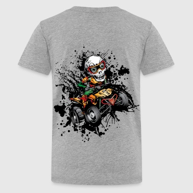 Paddle Quad ATV Skully Kids' Shirts - Kids' Premium T-Shirt