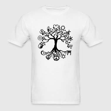 Unity and Peace - Men's T-Shirt