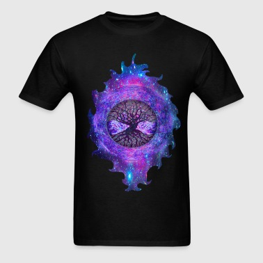 Purple Haze Tree of Life - Men's T-Shirt