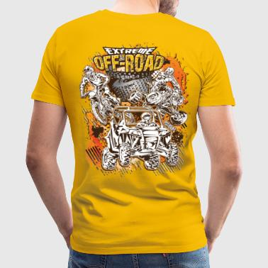 Extreme Off-Road Racing T-Shirts - Men's Premium T-Shirt