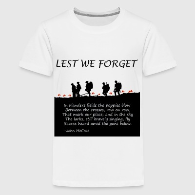 Remembering World War I - Kids' Premium T-Shirt