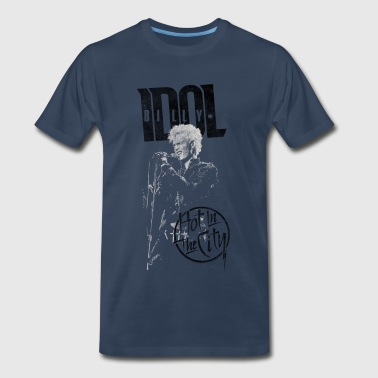 Hot In The City Billy Idol T-Shirts - Men's Premium T-Shirt