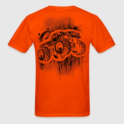 Monster Truck Grungy blk T-Shirts - Men's T-Shirt
