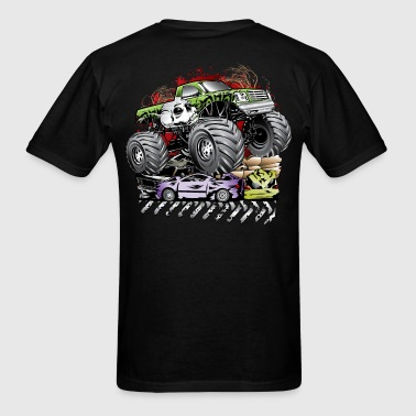 Mega Death Monster Truck T-Shirts - Men's T-Shirt