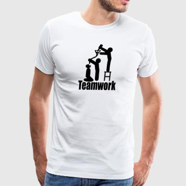 teamwork T-Shirts - Men's Premium T-Shirt