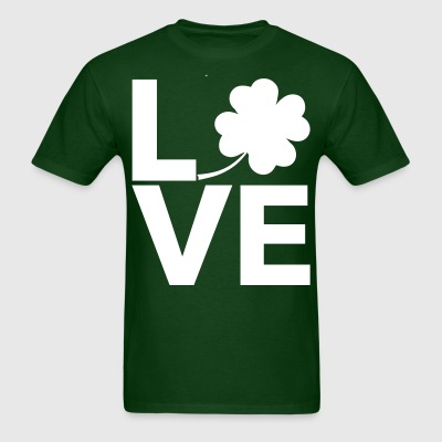 Love Shamrock - Country Closet T-Shirts - Men's T-Shirt