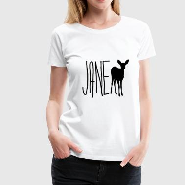 Jane Doe - Max (Life is Strange) Blk Ver. - Women's Premium T-Shirt