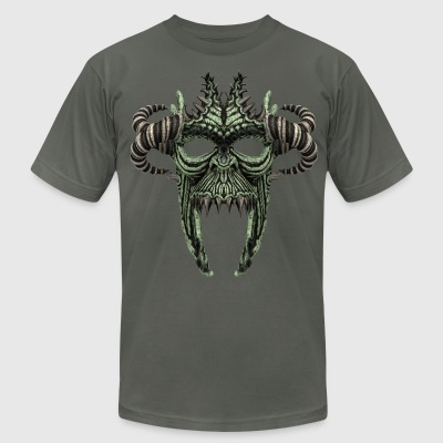 Skull Mask No.1A - Men's T-Shirt by American Apparel