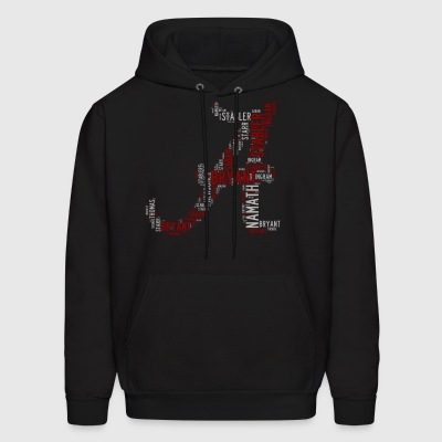 All Time Alabama Football Greats A Design Men's Ho - Men's Hoodie