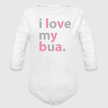 Desi Baby Bodysuit - I love my bua - Long Sleeve Baby Bodysuit