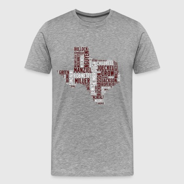 All Time Texas Aggieland Football Greats Men's Pre - Men's Premium T-Shirt