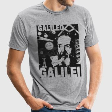 Galileo Galilei shirt - Unisex Tri-Blend T-Shirt by American Apparel