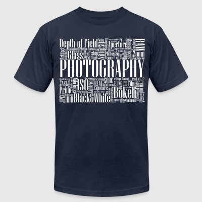 Photography - Men's T-Shirt by American Apparel