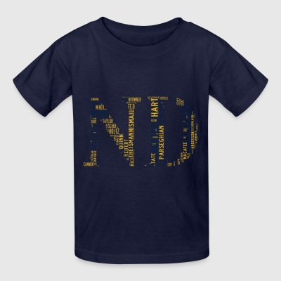 All Time Notre Dame Football Greats Kid's Basic T- - Kids' T-Shirt