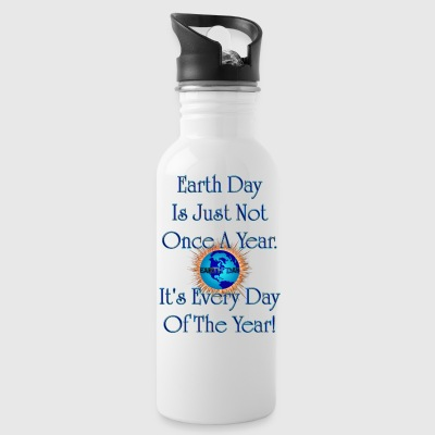 Earth Day Every Day Water Bottle - Water Bottle