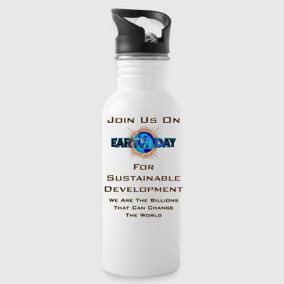 Earth Day Sustainable Development Water Bottle - Water Bottle