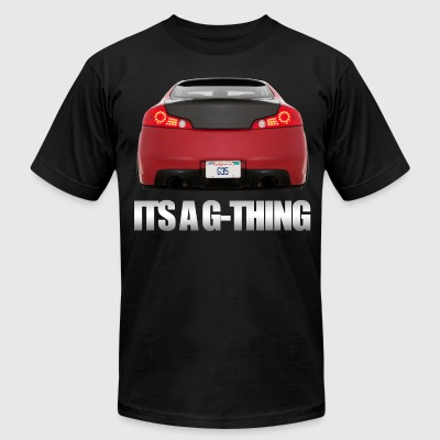 ITS A G-THING - Men's T-Shirt by American Apparel